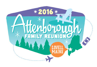 Attenborough family reunion logo