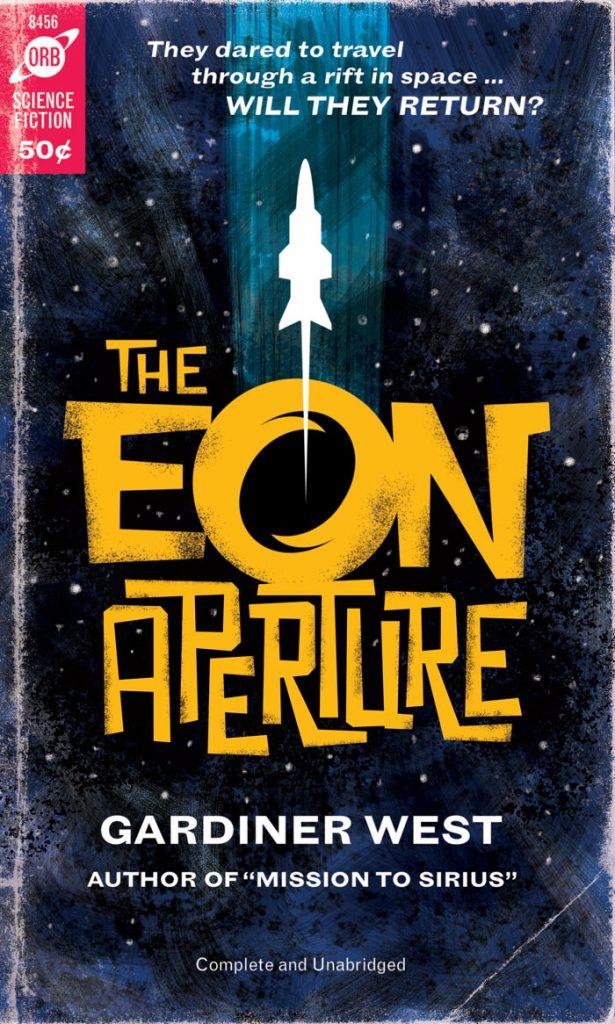 retro sci-fi paperback cover