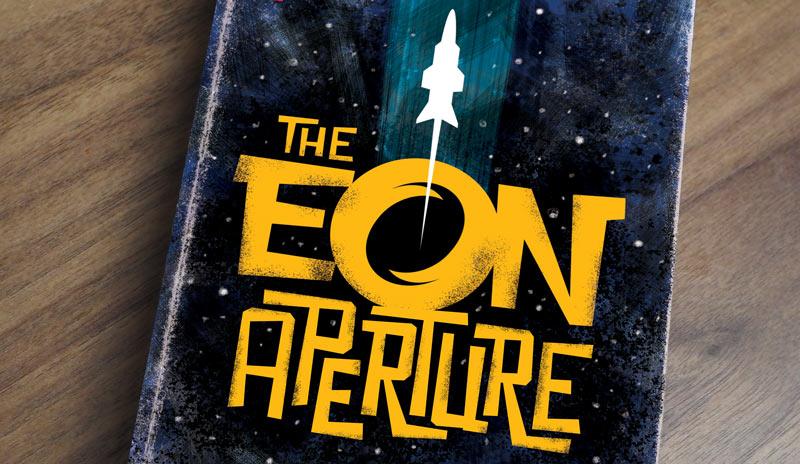 retro sci-fi book cover