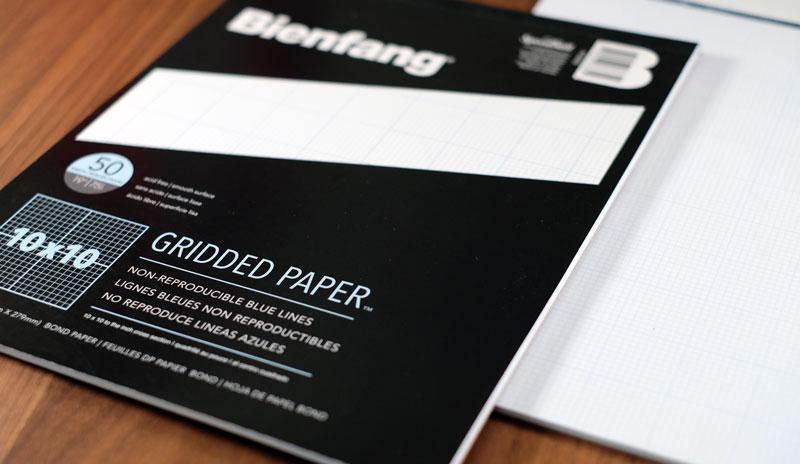 bienfang gridded paper
