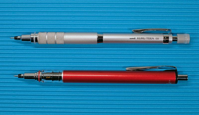kuru toga pencils
