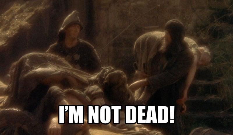Monty Python I'm not dead