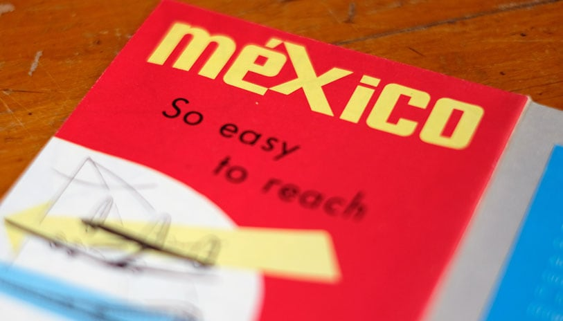 vintage mexico roadmap