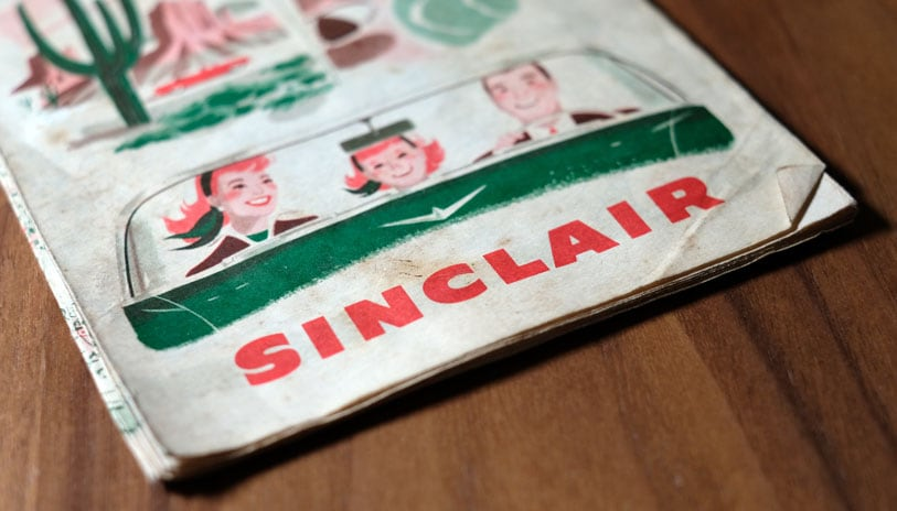 Sinclair Road Map